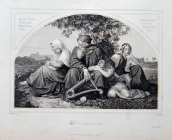 1686 Trauernde Juden nach Bendemann