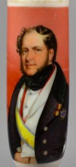 Henri Grevedon (1776-1860), Gioachino Antonio Rossini, Porzellanmalerei, Pfeifenkopf,  D1755