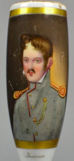 Theodor Körner, Porzellanmalerei, Pfeifenkopf, D1924