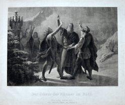 Carl Heinrich Rahl (1779-1843), Kupferstich, Der Rütlischwur, D1936