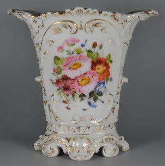 Innige Freundschaft, Porzellanmalerei, Vase, D1946 b