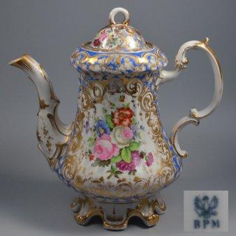 Buckauer Porzellanmanufaktur, Kaffeekanne um 1845, D0658-135-32