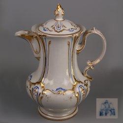 Buckauer Porzellanmanufaktur, Kaffeekanne um 1850, D1130-287-36
