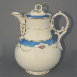 Buckauer Porzellanmanufaktur, Kaffeekanne um 1882, D0738-161-05