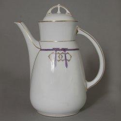 Buckauer Porzellanmanufaktur, Kaffeekanne um 1904, D0355-019-20