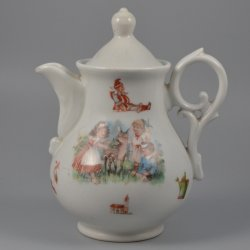 Buckauer Porzellanmanufaktur, Kinderkanne um 1890, D0359-003-30