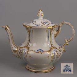Buckauer Porzellanmanufaktur, Teekanne um 1850, D1130-288-36