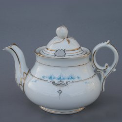 Buckauer Porzellanmanufaktur, Teekanne um 1882, D0711-173-05