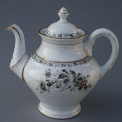Buckauer Porzellanmanufaktur, Teekanne um 1885, D0688-158-10