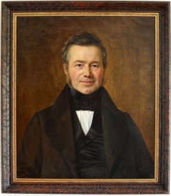 Carl Sieg (1784-1845), Herren-Halbportrait 1841, D1668