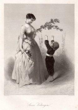 Charles Edouard de Beaumont (1819-1888), Süßes Verlangen, D1740