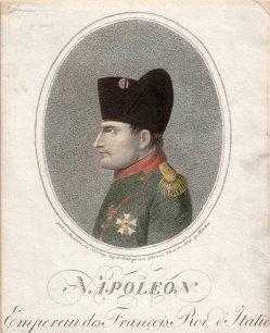 Johann Nepomuk Strixner (1782-1855), Napoleon I., Punktierstich 1810, D2016